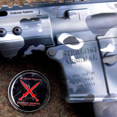 Urban MultiCam Cerakote SAR-XV 9MM SBR